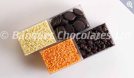 Decorative Chocolates Drops from Banquet Chocolates